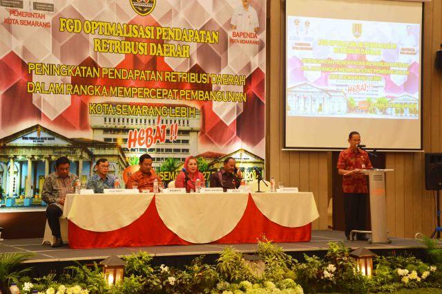 FGD Optimalisasi Pendapatan Restribusi Daerah