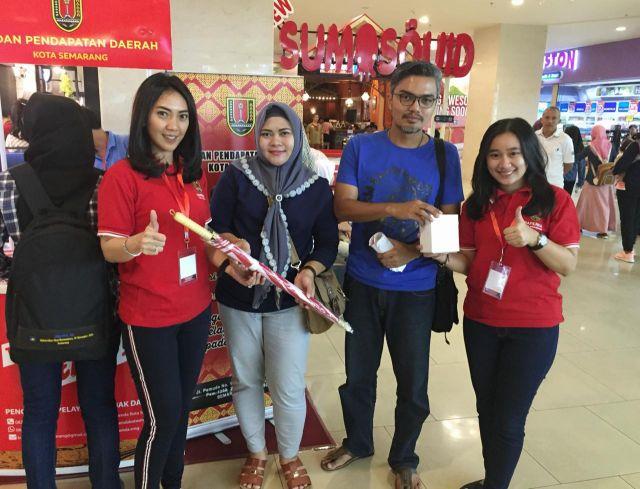 Sosialisasi Pajak Daerah dan Penerimaan Pembayaran PBB di Mall Paragon dan Citraland